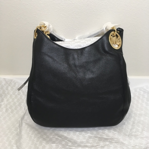 Michael Kors Fulton Large Shoulder Tote Leather 6869390c0c2fc